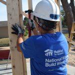 National Women Build Week 2017 volunteer