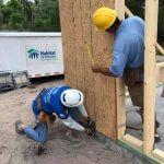 National Women Build Week volunteers