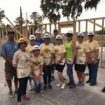 The Villages Insurance Women Build group photo