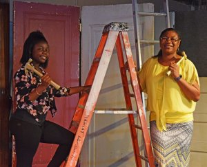 Pink Champagne Party: Anita & Lailah Women Build Homeowners