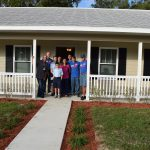 New Homeowners in Eustis with volunteers