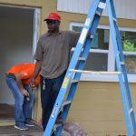 Coleman Preservation and Repair homeowner posing
