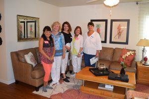 The Villages Home Decorating Club inside the Fruitland Park Habitat Lake-Sumter house