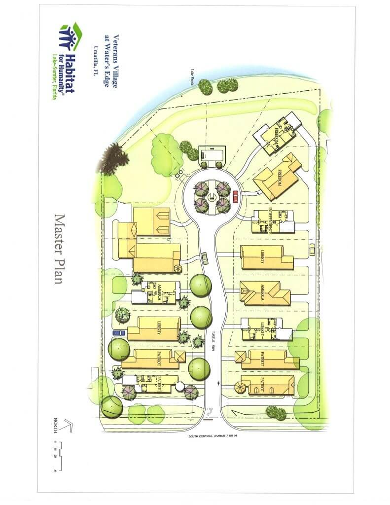 Veterans Village Master Plan