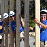 National Women Build Week 2017 volunteers