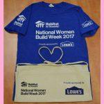 National Women Build Week 2017