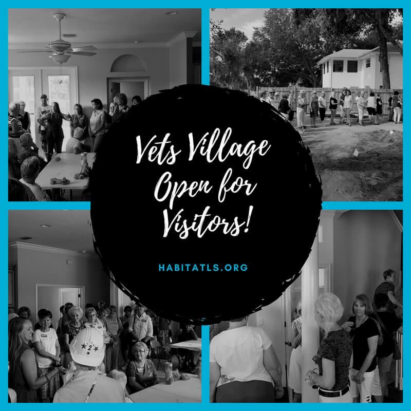 vets village open for visitors