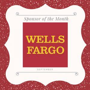 September 2017 sponsor of the month wells fargo