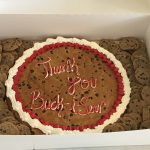 Thank you Buck-i-Serv cookie cake