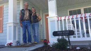 Veterans Village homeowners