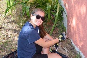 preservation and repair volunteer painting