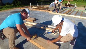 The Villages Charter School students in the Youth Construction Academy
