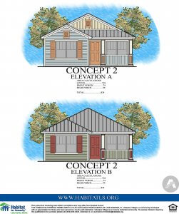 Coleman house elevations