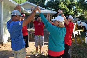 Wells Fargo Team Build in Eustis