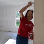 Wells Fargo volunteer interior painting