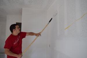 Wells Fargo volunteer interior painting