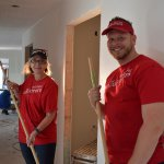 Wells Fargo volunteers