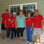 Wells Fargo Team Build in Eustis with future homeowner