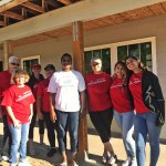 Wells Fargo Team Build in Oxford with future homeowner