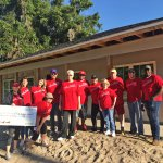 Wells Fargo Team Build check presentation in Oxford