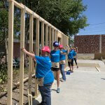 Women Build volunteers at the Eustis site