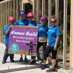 Women Build volunteers 2019 at the Eustis site