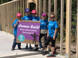 Women Build volunteers 2019 at the Eustis site