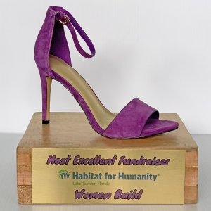 Women Build 2019 Most Excellent Fundraiser Award