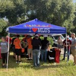 The Mojo Grill tent