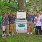 Citizens First Bank with Youth Construction Academy students
