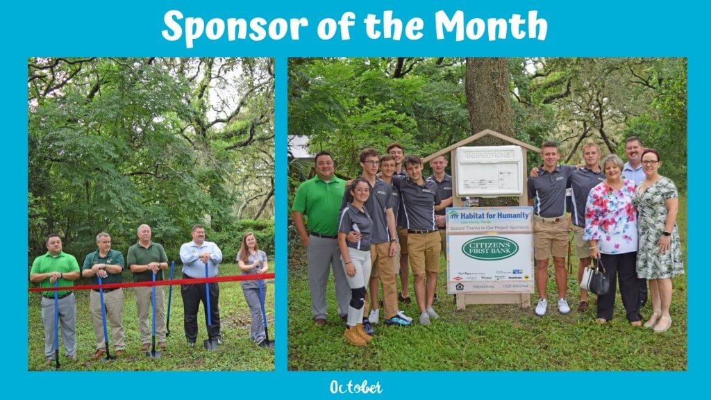 october sponsor of the month citizens first bank photos