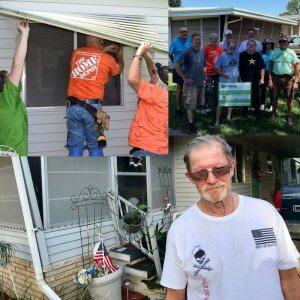 Preservation and Repair Veteran Homeowners & Volunteers