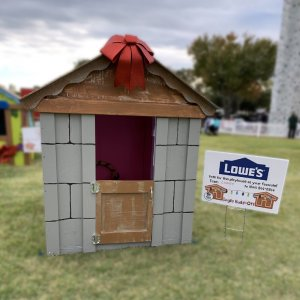 Lowe's playhouse