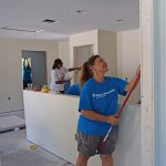 Oxford Site Women Build 2019 - interior painting