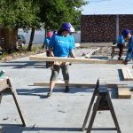 Eustis Site Women Build 2019 - building headers