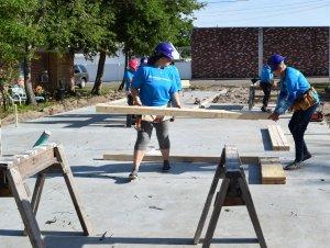 Eustis Site Women Build 2019 - building headers