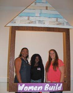 Women Build Pre-Build Celebration: homeowners