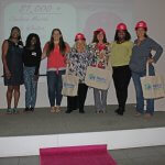 Pre-Build Celebration: Sisterhood of the Pink Hard Hats