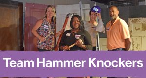 Team Hammer Knockers at the Pink Champagne Party