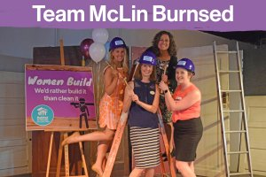 Pink Champagne Party: Team McLin Burnsed
