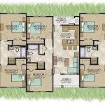 Triplex Complex Floor Plan