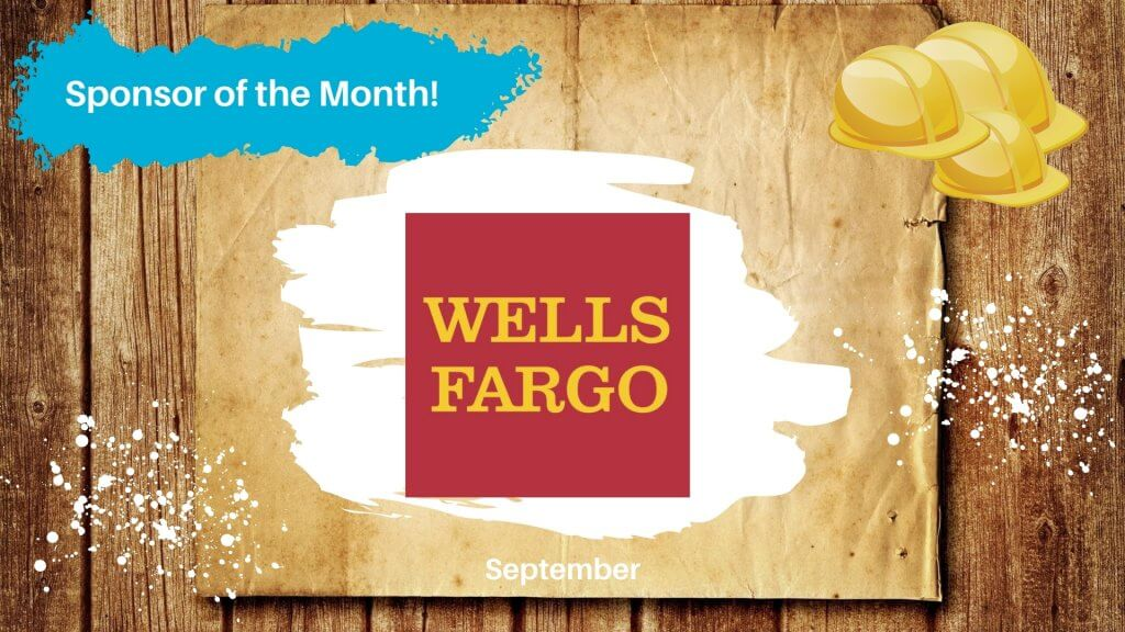 September 2020 Sponsor of the Month: Wells Fargo