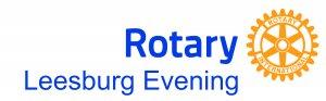 Rotary Leesburg Evening logo