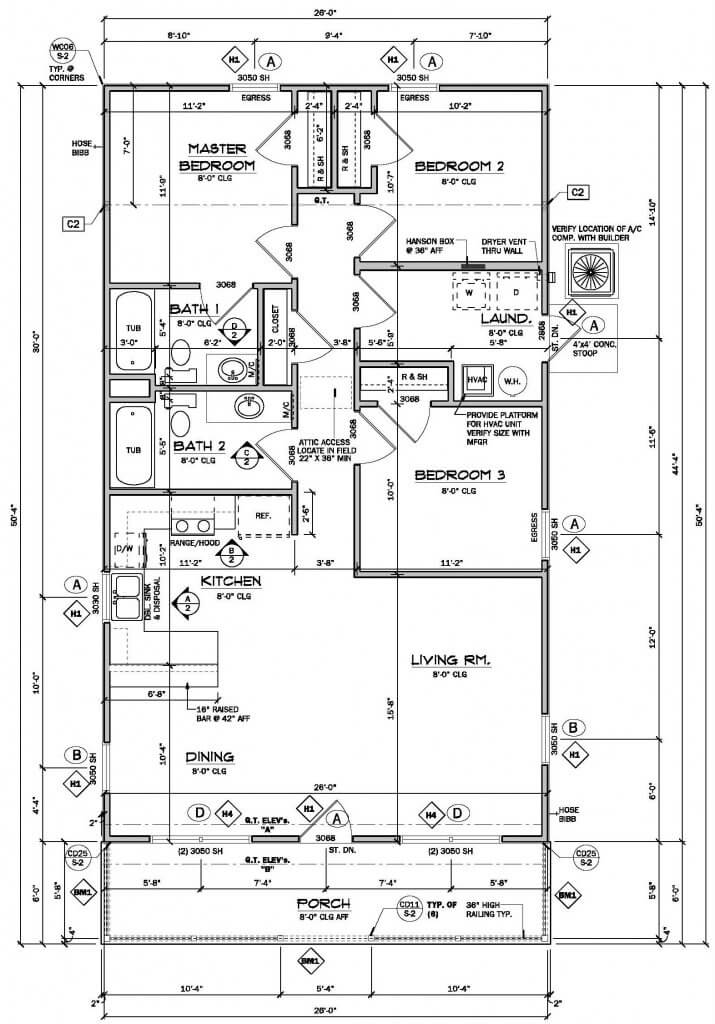 Anne Lady Lake Floor Plan
