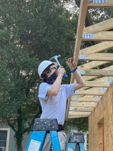 Joshua hammering