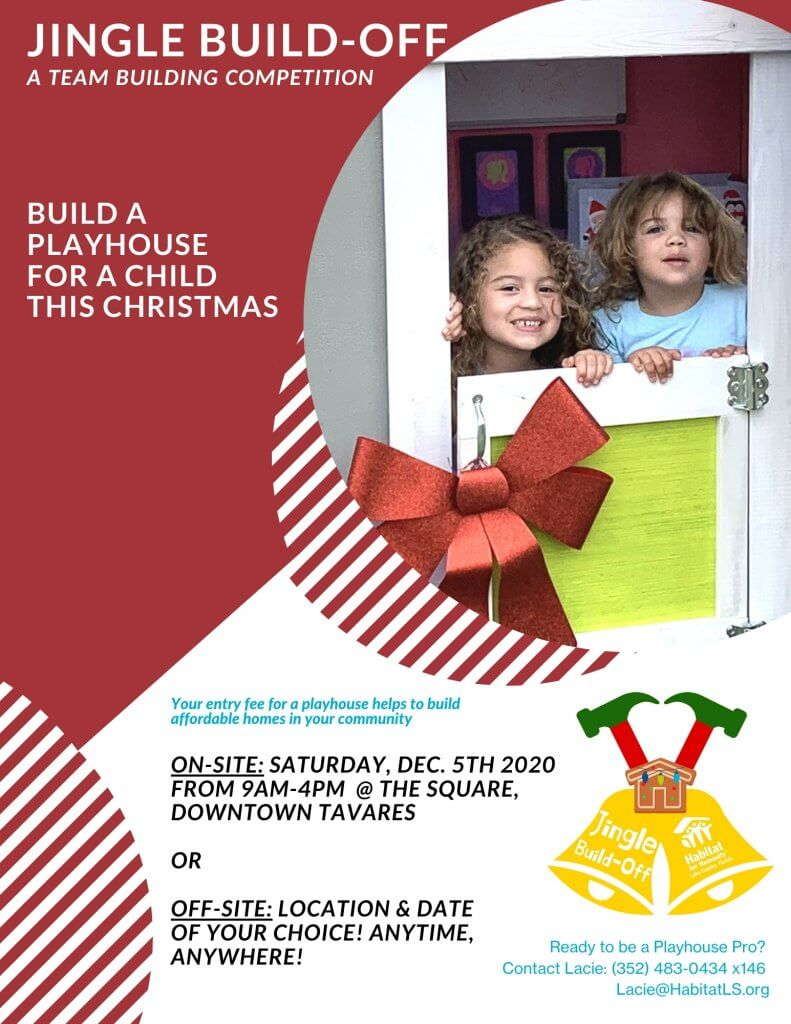 Jingle Build-Off 2020 Flyer