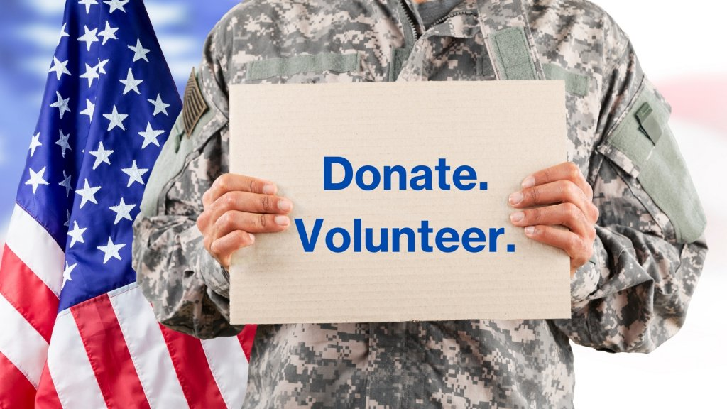 vhi: donate. volunteer.