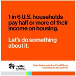 1 in 6 U.S. households pay half or more of their income on housing. Let's do something about it.