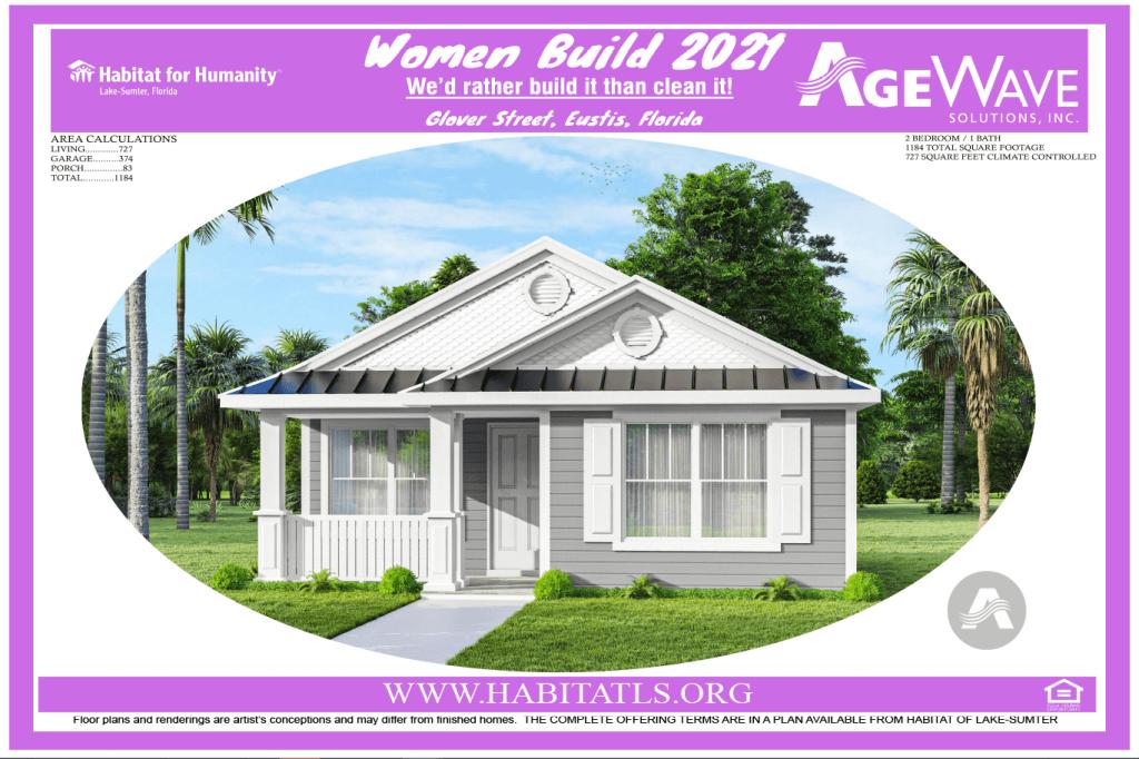 Women Build 2021 elevation