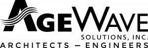 AgeWave logo in black